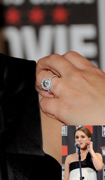 Celebs engagement ring