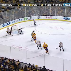 Gustavsson's terrific stick save