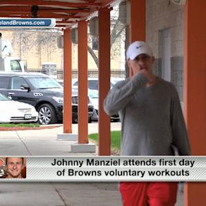 Will Cleveland Browns quarterback Johnny Manziel have even more competition after the draft?