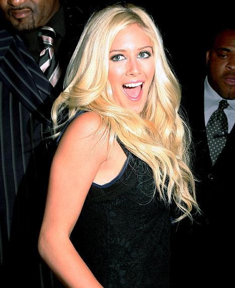 Heidi Montag Hosting Party at Las Vegas Strip Club October 19