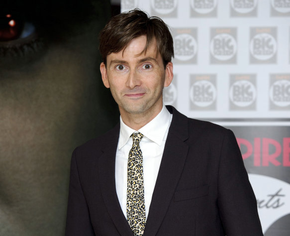 FILE - In Thursday, Aug. 11, 2011 file photo, British actor David Tennant arrives for the UK premiere of Fright Night at a central London venue. &quot;Doctor Who&quot; star David Tennant is returning to the Royal Shakespeare Company this year to play a troubled king in &quot;Richard II.&quot; Tennant, who played the time-travelling hero of the beloved, long-running BBC sci-fi series for four years, starred in an acclaimed RSC production of &quot;Hamlet&quot; in 2008. Artistic director Gregory Doran Wednesday, Jan. 23, 2013 announced details of other productions for late 2013, including adaptations of Hilary Mantel&#39;s historical novels &quot;Wolf Hall&quot; and &quot;Bring Up the Bodies,&quot; which focus on King Henry VIII&#39;s enigmatic powerbroker, Thomas Cromwell. (AP Photo/Jonathan Short, File)