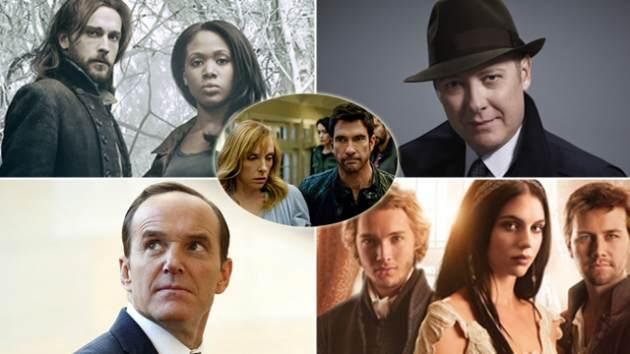 'Sleepy Hollow,' 'The Blacklist,' 'Marvel's Agents of S.H.I.E.L.D.' 'Reign,' and 'Hostages' inset -- FOX