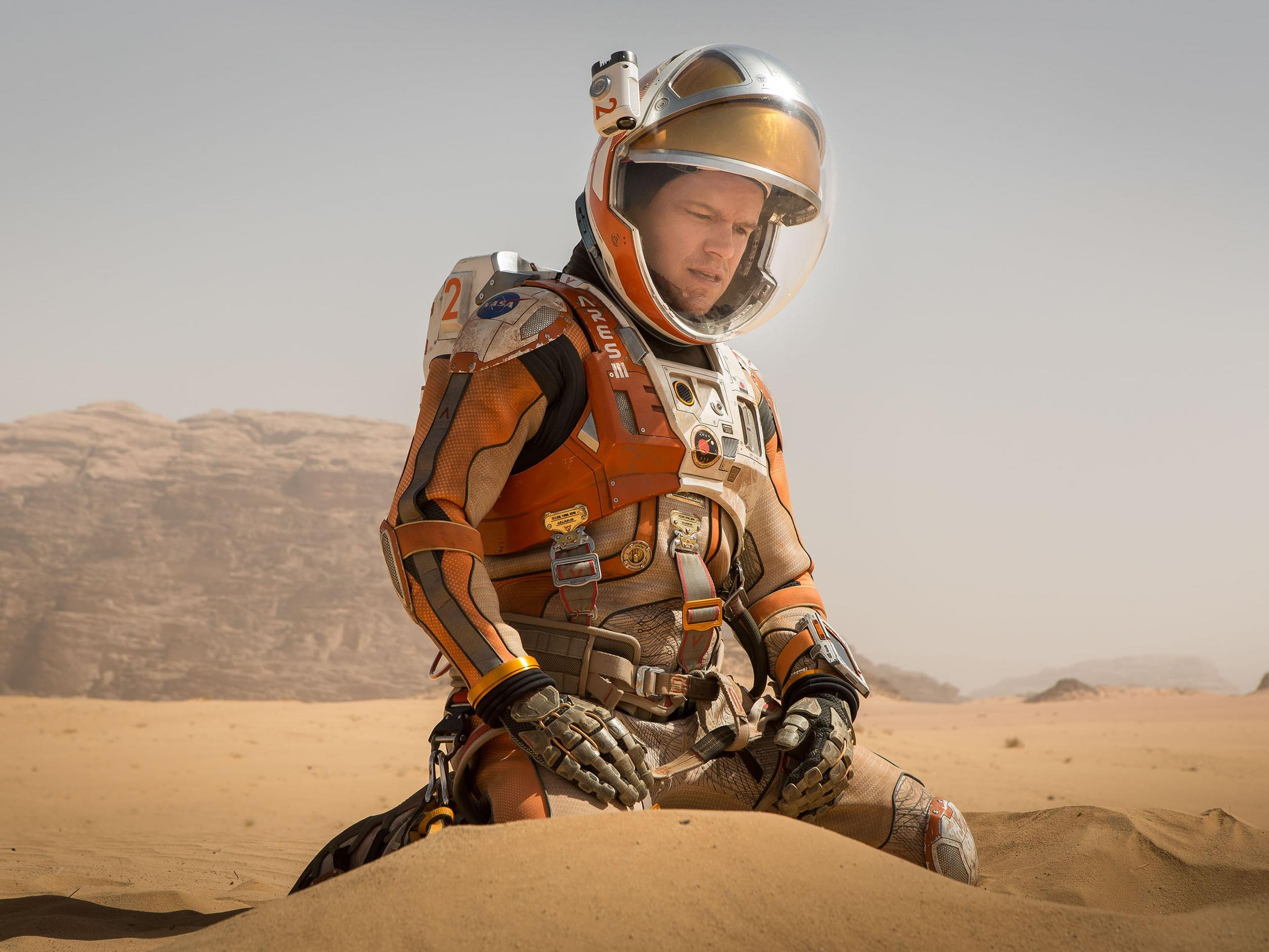 Stunning close-up photos of exactly where Matt Damon would be if he really were on Mars