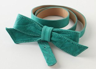 Anthropologie Belle Bow Belt