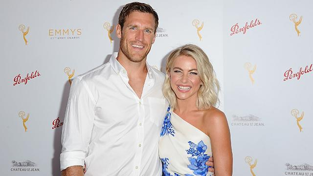 Julianne Hough and Her Fiance Couldn't Look Happier at Their First Red Carpet Since Getting Engaged