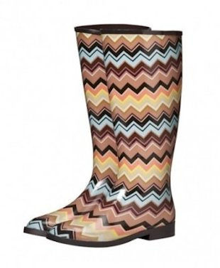 These Missoni for Target boots only cost $35 in stores, but sold out fast. Photo courtesy of Target