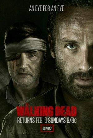 'Walking Dead': The Governor Has His Eye on Rick in New Season 3 Art