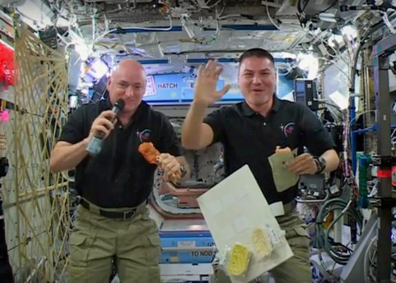 Thanksgiving in Space: What Astronauts Eat On Turkey Day (Video)