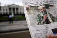 <p>The front page of a newspaper features a picture of Osama bin Laden on May 2, 2011. Bin Laden was shot dead deep inside Pakistan in a night-time helicopter raid by US covert forces.</p>