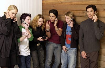 Chloe Sevigny, Seth Green, Natasha Lyonne, Wilmer Valderrama, Macaulay Culkin and Dylan McDermott Party Monster Sundance Film Festival 1/18/2003