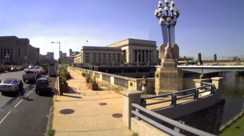 Watch Philly's Market Street Bridge Become Prettified