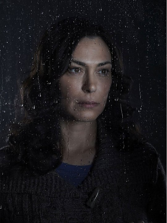 "Michelle Forbes stars as Mitch Larson in ""The Killing."""