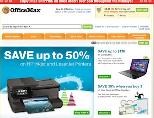 Office Max Cyber Monday deals