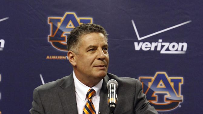 Bruce Pearl eager to get to work at Auburn