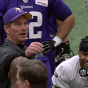 Head Coach Mike Zimmer mic'd up at Minnesota Vikings training camp