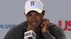 Woods news conference after Round 1 of U.S. Open