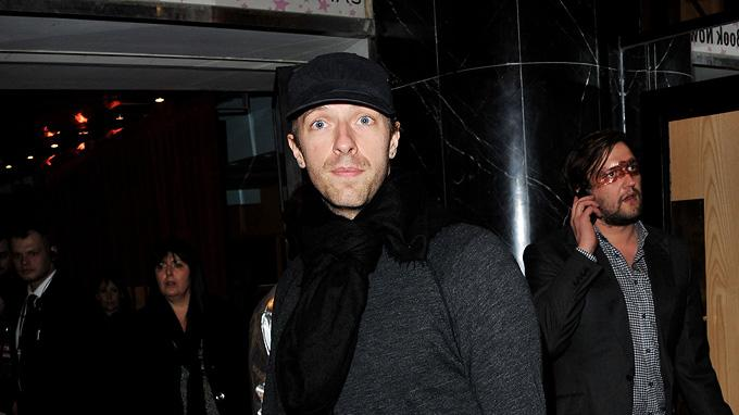 Paul UK premiere 2011 Chris Martin