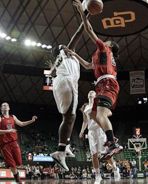 Sims 25 points, No. 9 Baylor women over Tech 92-43