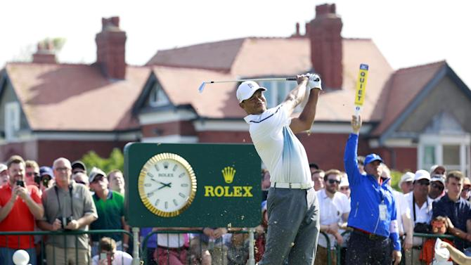 Great stretch gives Tiger Woods good start