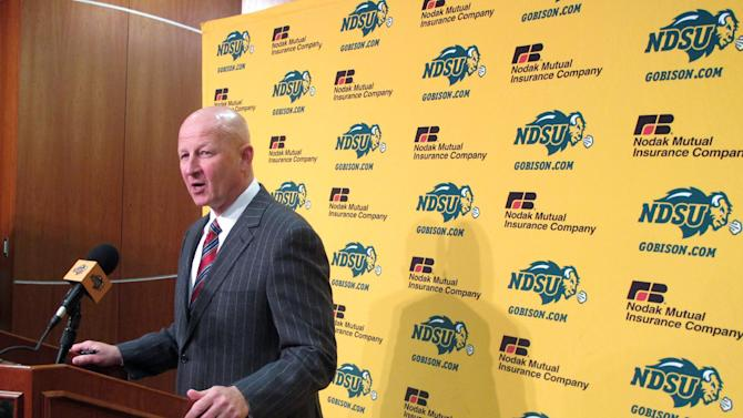 NDSU coach tells players not to focus on his move