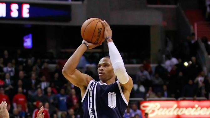 NBA: Oklahoma City Thunder at Washington Wizards