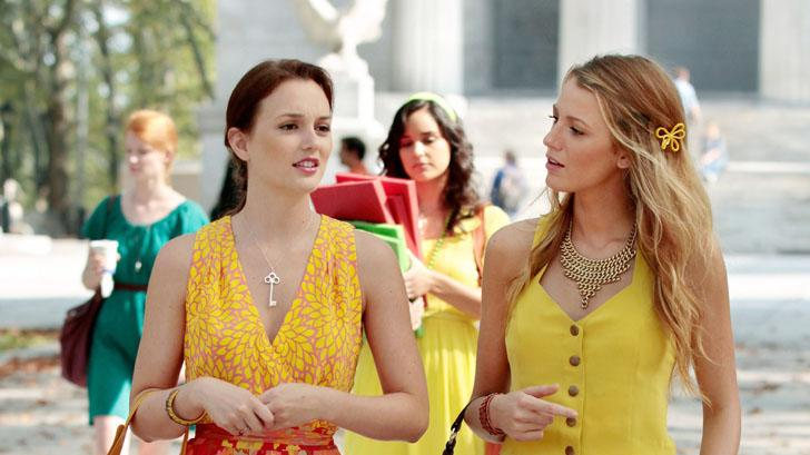 "Blair and Serena, ""Gossip Girl"""