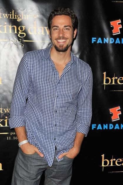 Zachary Levi attends 'The Twilight Saga: Breaking Dawn Part 2' VIP Comic-Con Celebration in San Diego on July 11, 2012 -- Getty Images