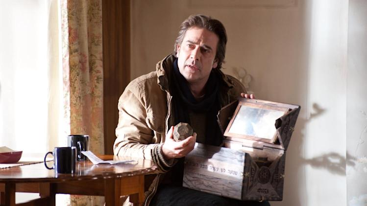 "In this undated publicity photo released by Lionsgate, Jeffrey Dean Morgan stars as Clyde in film, ""The Possession.""  (AP Photo/Lionsgate, Diyah Pera)"