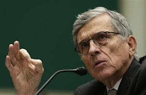 FCC Chairman Tom Wheeler testifies before the House Communications and Technology panel on Capitol Hill in Washington