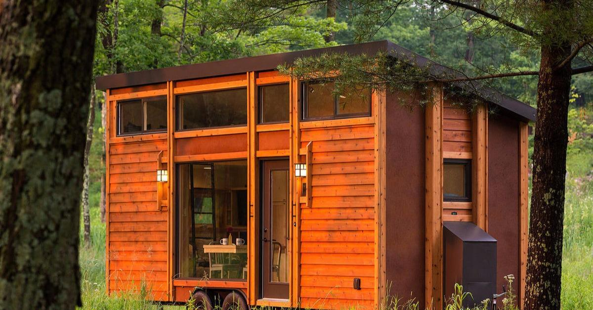 This Man Built A Tiny Home For Less Than $500