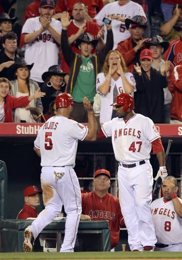 Angels beat Rangers 3-2 to trim AL West lead