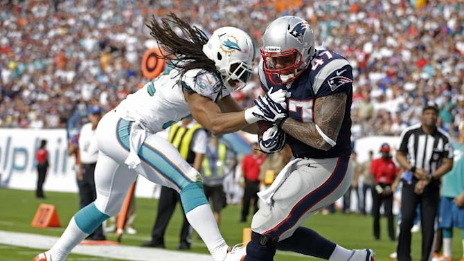 Pats' Ninkovich not discouraged by missed chance