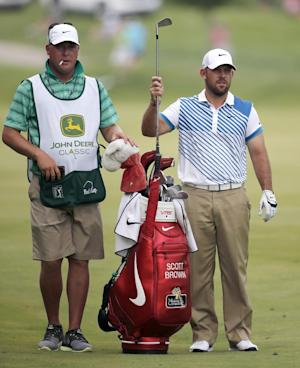Harman grabs lead in John Deere Classic