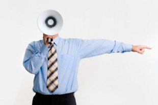 You don't have to shout to have your complaint heard. (ThinkStock Images)