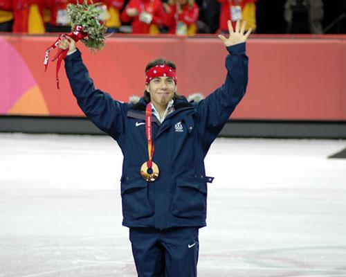 Apolo Ohno, U.S. Olympian/short-track speed skating
