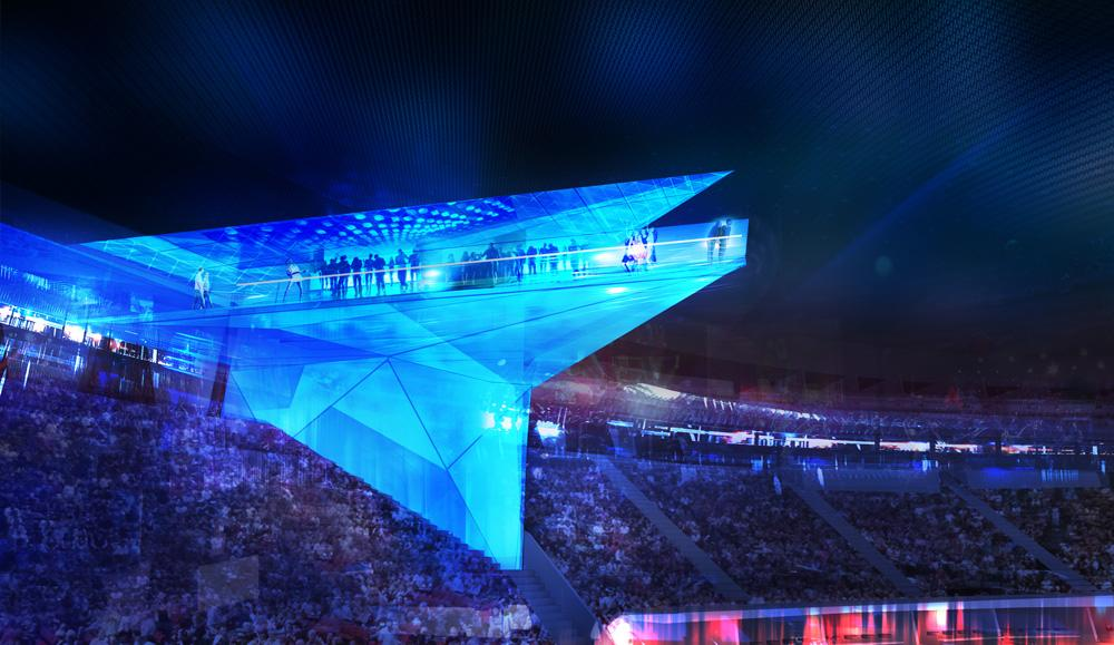 Introducing the Stadium of the Future, Where Technology Rules
