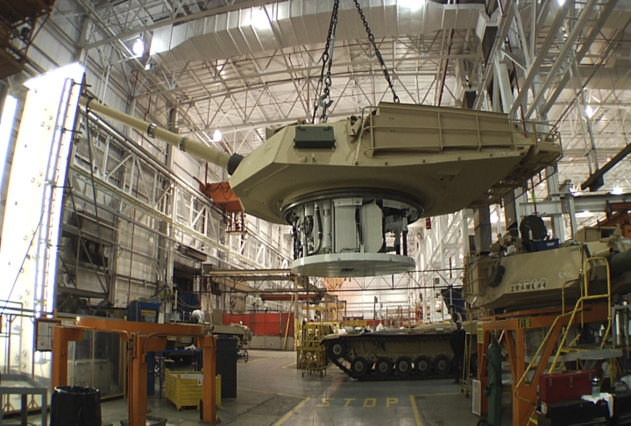 <p> FILE - This undated file photo provided by the General Dynamics Land System shows the production of an Abrams tank in Lima, Ohio. Lawmakers from both parties have devoted nearly half a billion dollars in taxpayer money over the past two years to build improved versions of the 70-ton Abrams, which the Army refers to with a moniker that befits their heft: the M1A2SEPv2. The upgraded tanks cost about $7.5 million each, according to the Army, and service officials say they have plenty of them. (AP Photo/General Dynamics Land System, File)
