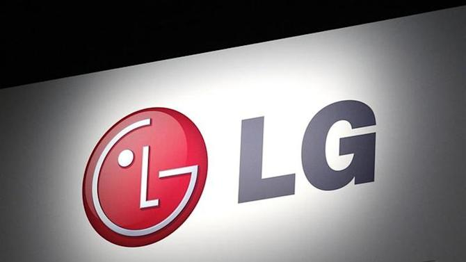 LG Electronics' company logo is displayed at their news conference at the Consumer Electronics Show (CES) in Las Vegas January 7, 2013. REUTERS/Rick Wilking/Files