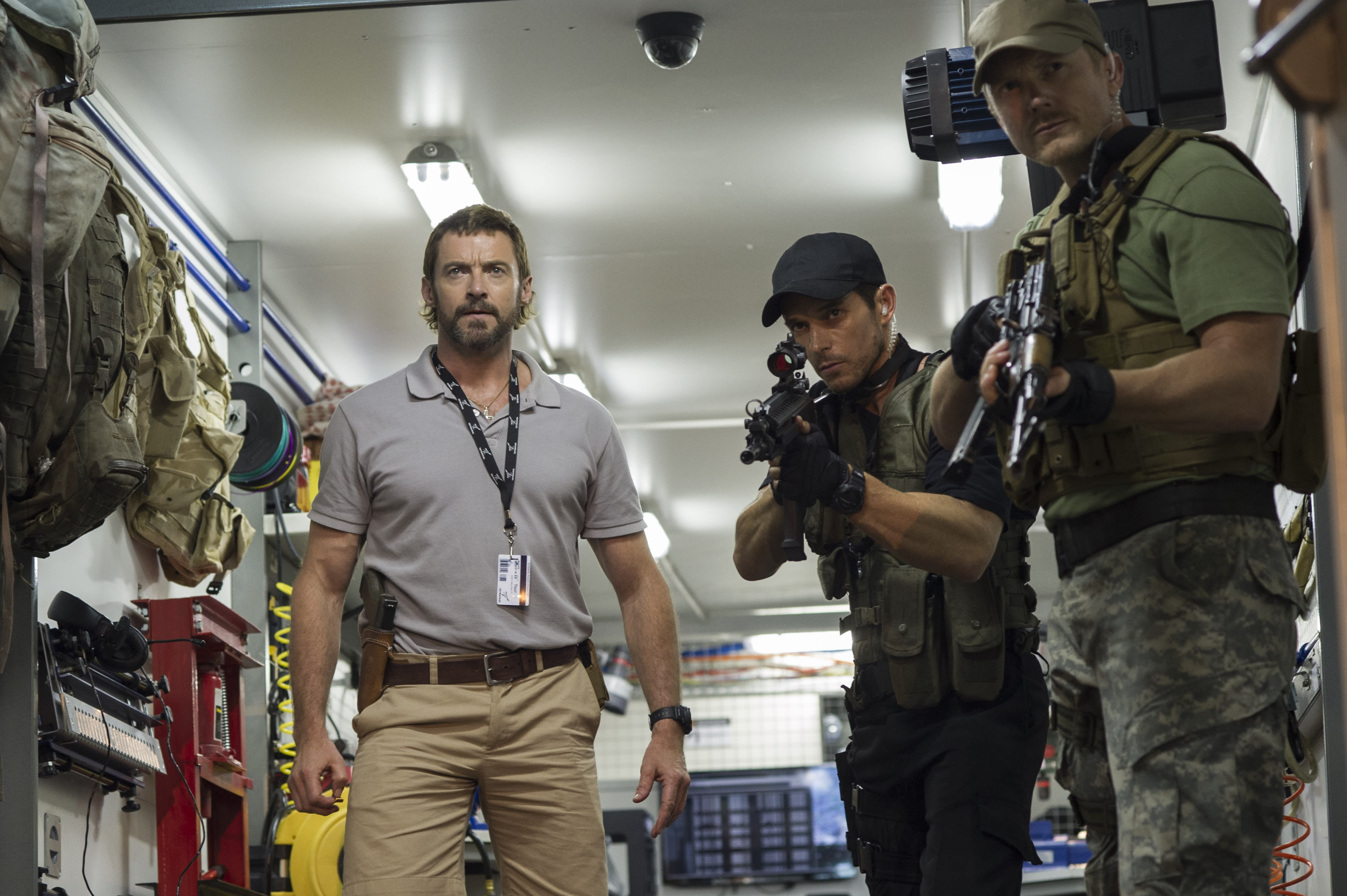 "Hugh Jackman,​ Sigourney Weaver take on ""Chappie"""