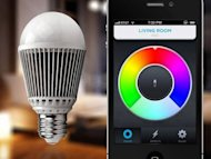 A concept for the LIFX LED smart bulb that users can program and control from a mobile device.