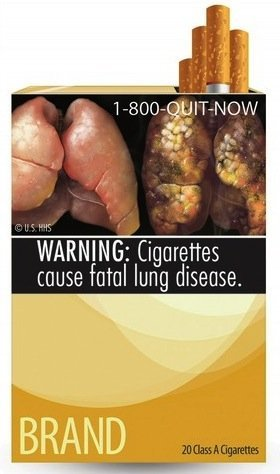 FDA-proposed cigarette labels