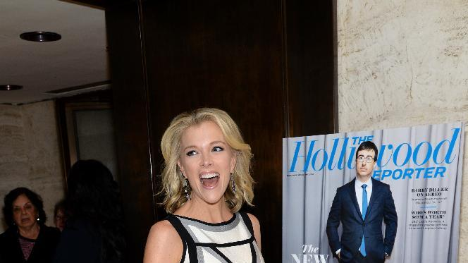 IMAGE DISTRIBUTED FOR THE HOLLYWOOD REPORTER - Reporter Megyn Kelly seen at The 35 Most Powerful People in Media hosted by The Hollywood Reporter, on Wednesday, April 16, 2014 in New York, New York. (Photo by Evan Agostini / Invision for The Hollywood Reporter /AP Images)