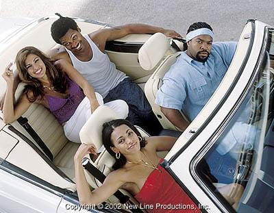 Eva Mendes , Mike Epps , Valarie Rae Miller and Ice Cube in New Line's All About The Benjamins