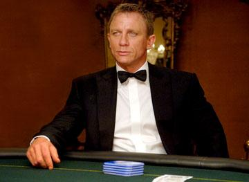 Daniel Craig as James Bond in MGM/Columbia Pictures' Casino Royale