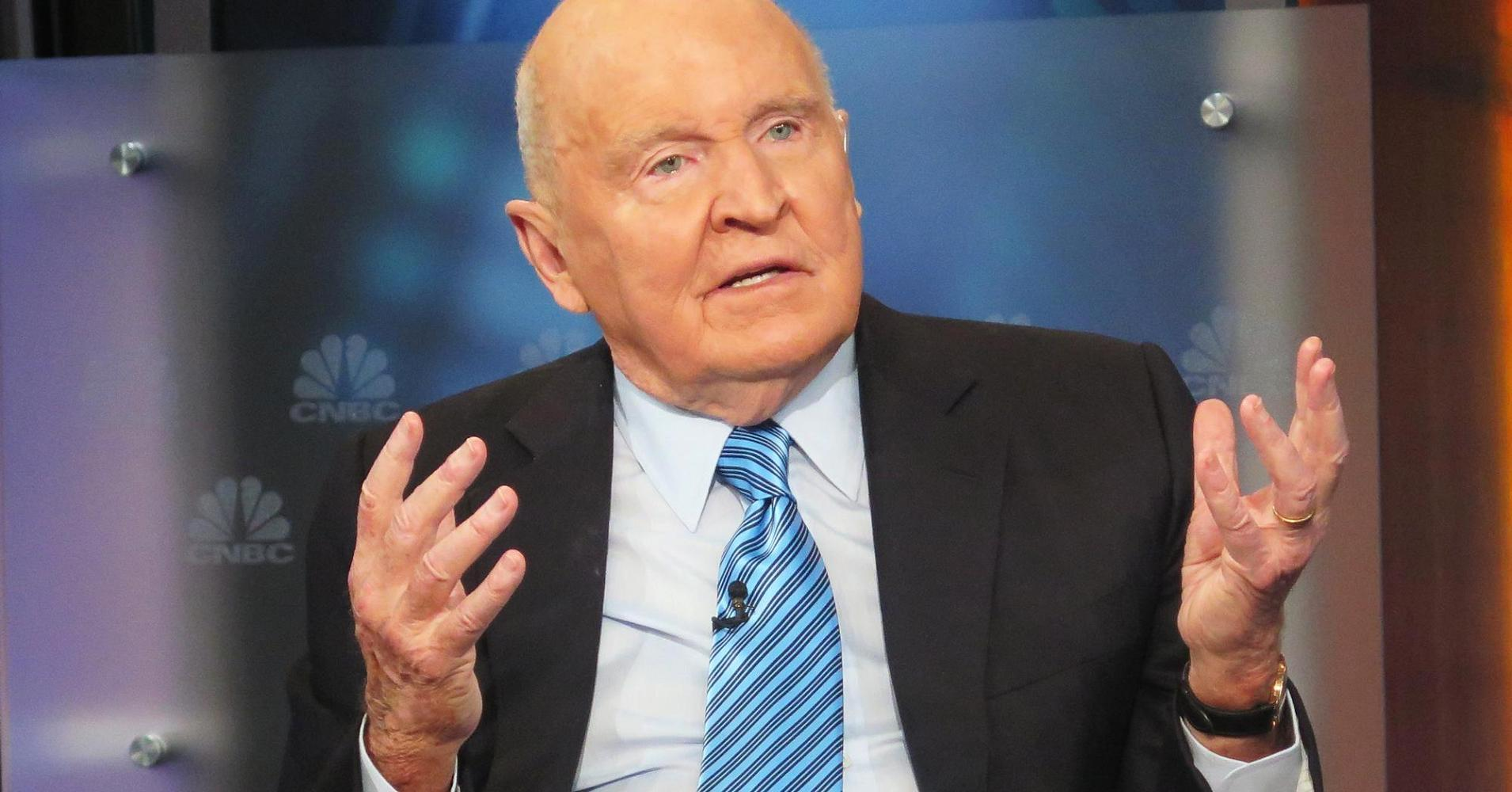 Jack Welch: Why financial services a 'changed game'