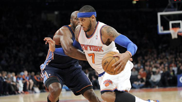 Anthony sets records with 62 points as Knicks roll