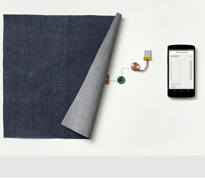 Google wants to bring touchscreen controls to your clothing