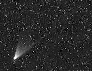 Comet Pan-STARRS C/2011 L4, discovered by the Pan-STARRS 1 telescope on Haleakala in June 2011, is expected to become visible to the naked eye in the Northern Hemisphere in March. The comet is currently visible in the Southern Hemisphere. Image