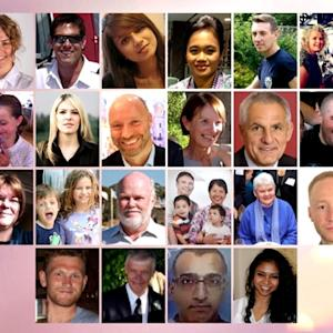 Faces of Souls Lost in Malaysian Plane Crash