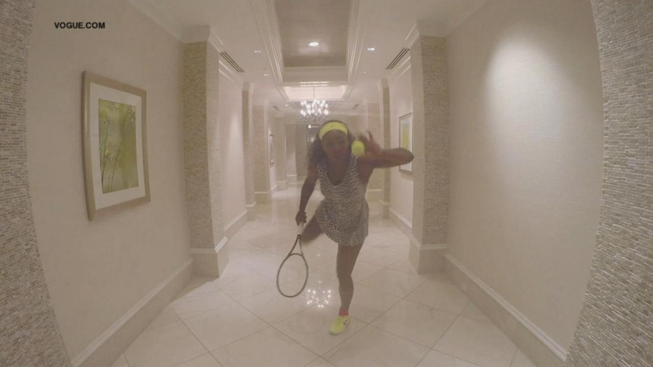 Serena Williams Remakes Beyonce's 7/11 Video